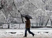 Rain-snow in Kashmir and Himachal