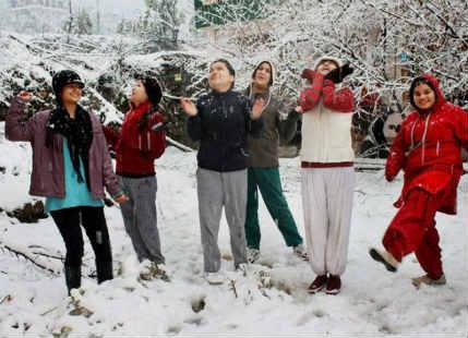 Snow in J&K and Himachal Pradesh
