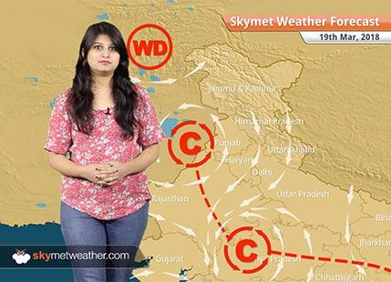 Weather Forecast for Mar 19: Rain in Bengaluru, Karnataka, Kerala; dry weather in Mumbai, Delhi