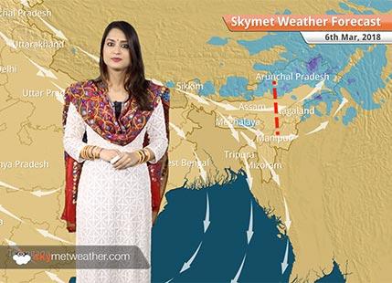 Weather Forecast for Mar 6: Rain in Assam, Arunachal, Nagaland; hot weather in Karnataka, Andhra, Telangana