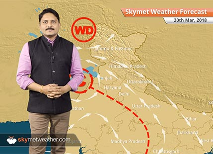 Weather Forecast for Mar 20: Snow in Kashmir, Himachal, Uttarakhand; Rain in Punjab, Haryana, UP