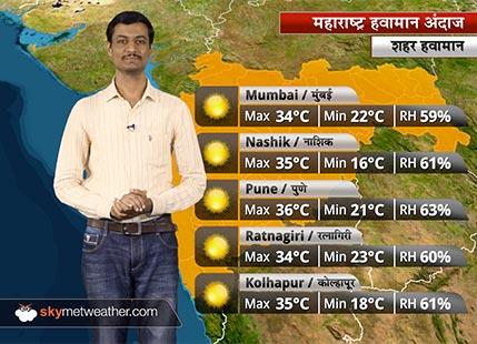 Maharashtra Weather Forecast for Mar 6: Warm weather in Maharashtra; rain likely in Washim, Akola, Nagpur
