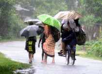 Southwest Monsoon rains in Assam