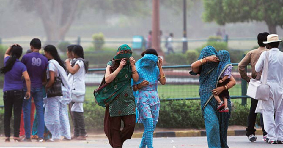 Delhi dust storm thunderstorm and rain-India Today 1200