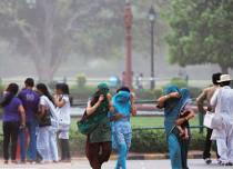 Delhi dust storm thunderstorm and rain-India Today 429
