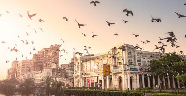 Delhi warm weather
