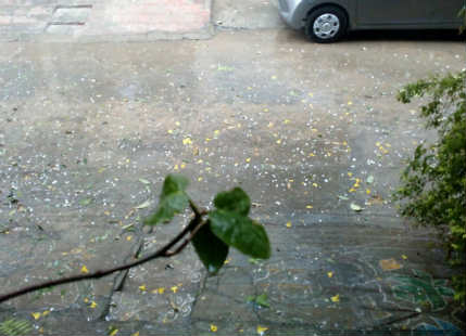 Rain, hailstorm lash Hyderabad; more rains expected