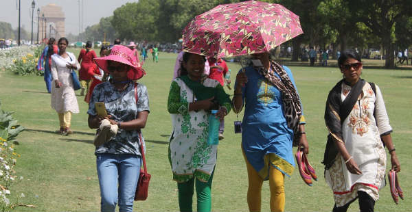 Heat-wave in Delhi