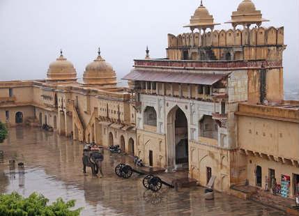 Jaipur rain-clouding