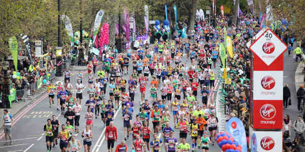 London Marathon 2018 becomes hottest ever recorded