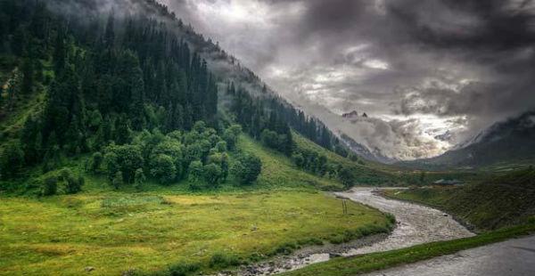 Monsoon rains 2018 in Jammu-and-Kashmir