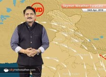 Weather Forecast for April 24: Hot and dry weather in Delhi, Punjab, MP; pleasant morning in Bihar and UP