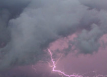 Norwester and Lightning in Bihar