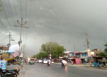Rain in Gorakhpur-