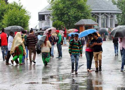 Rain in Himachal Pradesh Indiamike