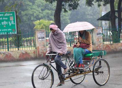 Rain in Meerut