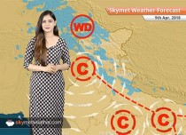 Weather Forecast for April 9: Pre Monsoon rains in Kashmir, West Bengal, Jharkhand, Delhi to remain warm