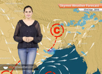 Weather Forecast for Apr 23: Rain in Kolkata, Kerala, Hyderabad; dry weather in Chennai