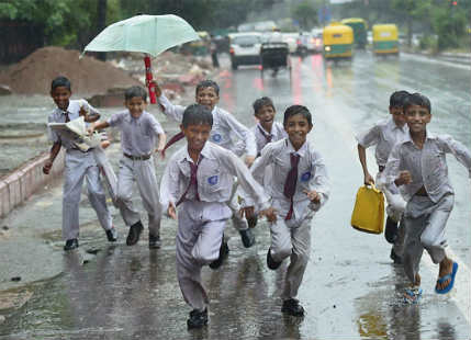 delhi pre Monsoon rains