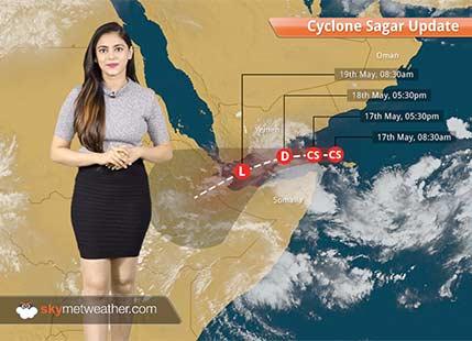 Cyclone Sagar forms in Arabian Sea, first of the season