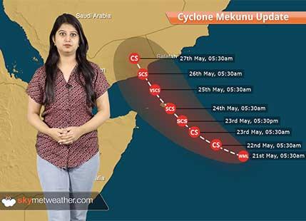 Cyclone Mekunu to spare India, torrential rains in Yemen, Oman, Socotra