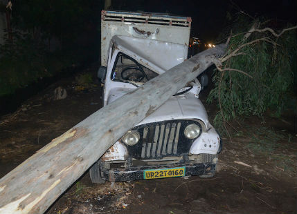 Deadly storm in North India