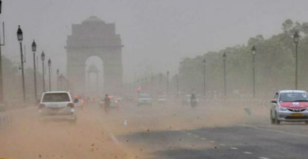 Dust storm in Delhi and NCR