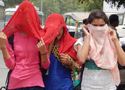Heatwave in North India