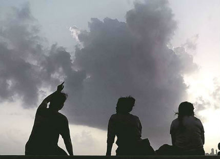 Hot and dry weather in Uttar Pradesh