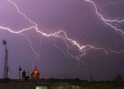 Lightning in Uttar Pradesh