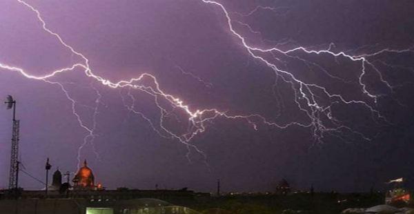 Lightning in Uttar Pradesh