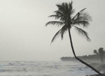 Monsoon rain in Andaman and Nicobar