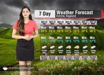 Weather Forecast for Nagaland from May 22 to 28