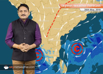 Weather Forecast for May 26: Monsoon arrives in Andaman and Nicobar, Heatwave in Delhi, Rajasthan