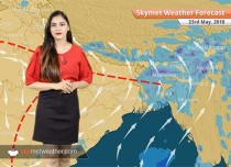 Weather Forecast for May 23: Rain in Karnataka, Kerala; Delhi, Mumbai to remain hot