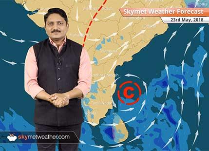 23 मई मौसम पूर्वानुमान: बिहार, झारखंड में बारिश; राजस्थान और गुजरात में लू का प्रकोप..