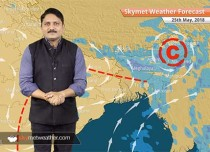 Weather Forecast for May 25: Heatwave in Rajasthan, Madhya Pradesh; rains in Kashmir, Himachal