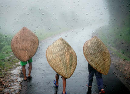 Rains in Northeast India