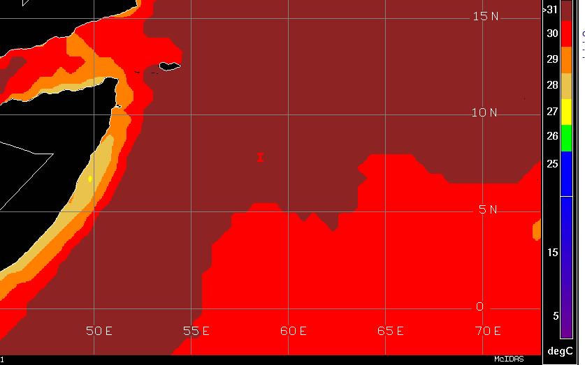 SST in Arabian Sea