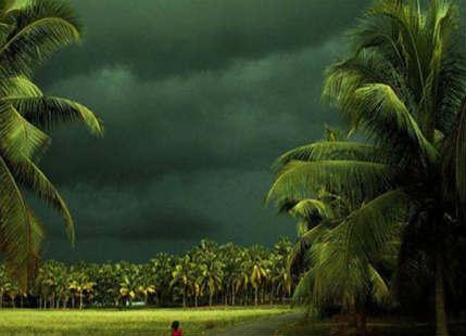 Showers in Kerala