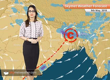 Weather Forecast for May 9: Rain in Bengaluru, Bihar, Northeast India, warm in Mumbai, Delhi, Kolkata, Chennai