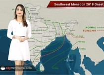 Skymet releases its onset date of Monsoon 2018