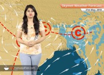 Weather Forecast for May 21: Heatwave over Rajasthan, West Madhya Pradesh, Vidarbha; dust storm over East MP