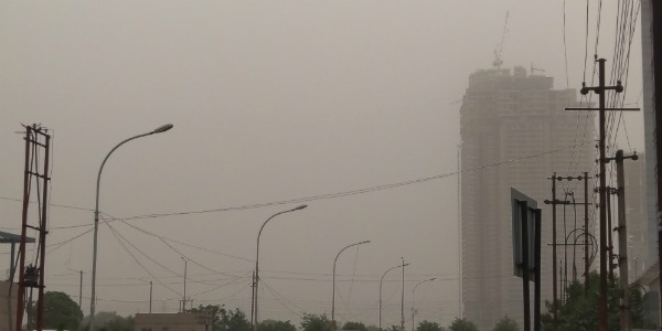 Here is why Delhi is observing unusual sky conditions
