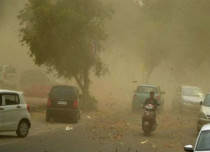 Dust storm in Uttar Pradesh