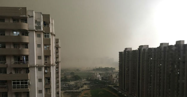 Dusty winds in Delhi and NCR