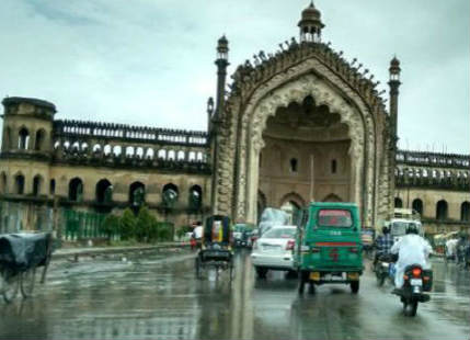 Lucknow pre Monsoon rain