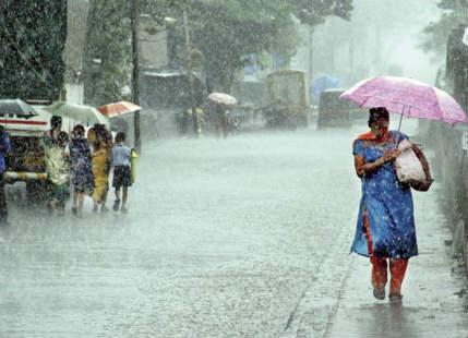 Monsoon rain in Madhya Pradesh