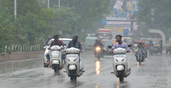 Monsoon rains in chhattisgarh