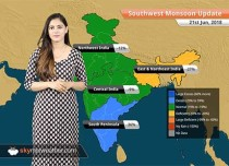 Monsoon Forecast for June 22, 2018: Heavy Monsoon rain in Goa, Karnataka, Kerala